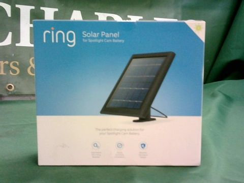 Lot 1080 RING SOLAR PANEL FOR SPOTLIGHT CAMERA BATTERY