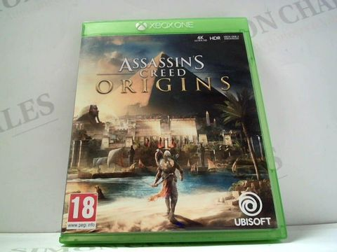 Lot 797 ASSASSINS CREED: ORIGINS XBOX ONE GAME