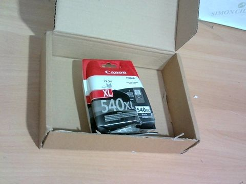 Lot 1302 CANON PG-540 XL BLACK XL INK CARTRIDGE