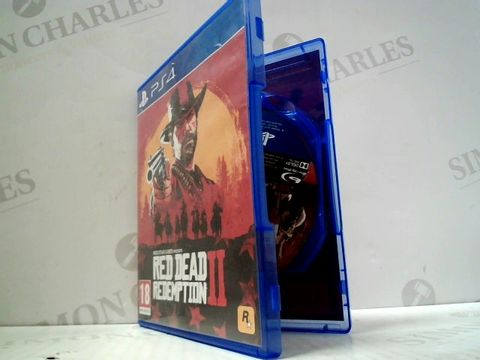 Lot 3149 RED DEAD REDEMPTION II PLAYSTATION 4 GAME