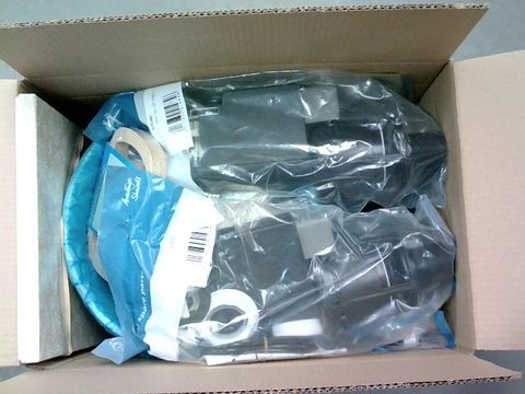 Lot 2296 BOX OF LARGE QUANTITY OF ASSORTED HOUSEHOLD ITEMS