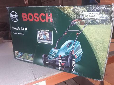 Lot 12470 BOSCH ROTAX 34R CORDER LAWN MOWER