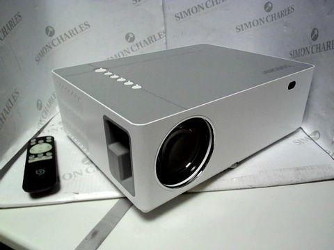 Lot 7068 BOMAKER 7200 NATIVE 1080P HOME THEATRE MULTIMEDIA LED PROJECTOR