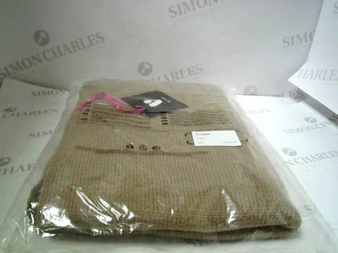Lot 7140 BRAND NEW CAMEL KNITTED SCARF  RRP £20.00