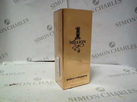 Lot 8099 PACO RABANNE 1 MILLION EDT 100ML