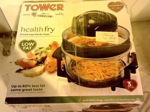 Lot 12006 TOWER HEALTH FRY 17L LOW FAT AIR FRYER