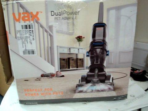 Lot 9209 VAX ECR2V1P DUAL POWER PET ADVANCE CARPET CLEANER