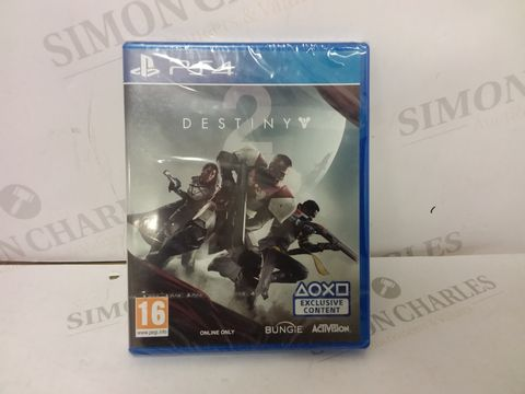 Lot 12459 BOXED SEALED DESTINY 2 FOR PS4