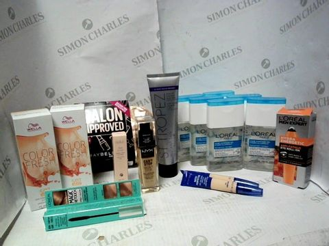 Lot 4419 LOT OF APPROXIMATELY 10 ASSORTED COSMETIC ITEMS, TO INCLUDE DELILAH TAKE COVER CONCEALER, MAYBELLINE FACE KIT, L'OREAL HAND SANITISER GEL, ETC RRP £175.00