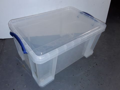 Lot 5316 REALLY USEFUL STORAGE BOX, 48 LITRE, CLEAR