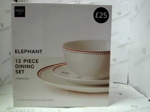 Lot 105 M&S 12 PIECE DINING SET