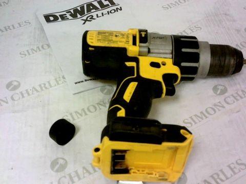 Lot 418 DEWALT DCD996N 18V XR 3-SPEED BRUSHLESS HAMMER COMBI DRILL (BODY ONLY)