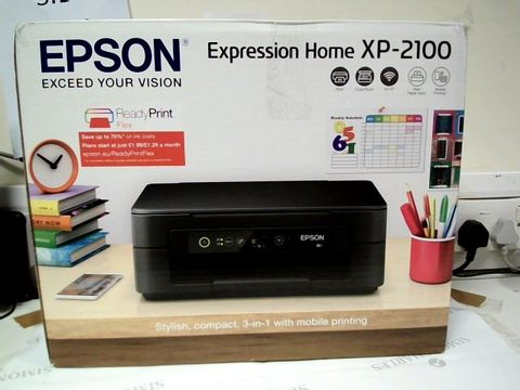Lot 7443 EPSON EXPRESSION HOME XP2100