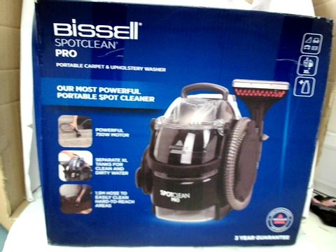 Lot 9205 BISSELL SPOT CLEAN PRO PORTABLE CARPET WASHER