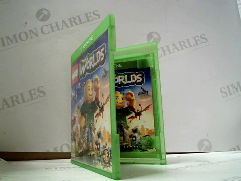 Lot 8039 LEGO: WORLDS XBOX ONE GAME