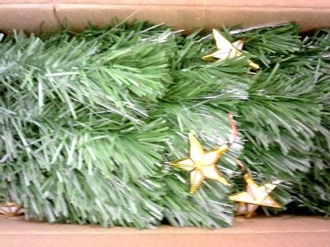 Lot 27 WERCHRISTMAS PRE-LIT FIBRE OPTIC MULTI-FUNCTION CHRISTMAS TREE