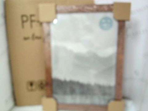 Lot 561 PF+A PHOTO FRAME A3 SIZE RUSTIC X 2