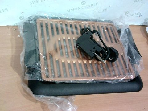 Lot 3376 GOTHAM STEEL COPPER NON-STICK ELECTRIC INDOOR GRILL