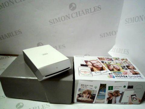 Lot 4052 FUJIFILM INSTAX SHARE SMARTPHONE PRINTER  RRP £209.99