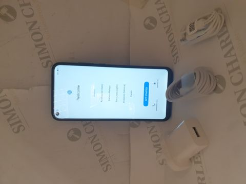Lot 9 BOXED HUAWEI P40 LITE 3 64GB ANDROID SMART PHONE - AURORA BLUE