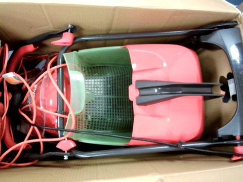 Lot 11071 FLYMO GLIDER COMPACT 330AX ELECTRIC HOVER COLLECT LAWN MOWER