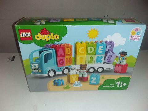Lot 1132 LEGO DUPLO ALPHABET TRUCK - 10915