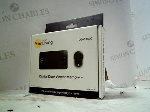 Lot 190 YALE SMART LIVING - DIGITAL DOOR VIEWER MEMORY + DDV 4500