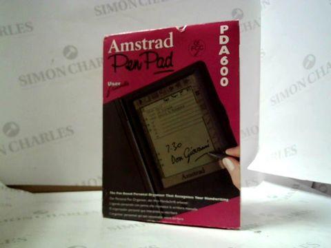 Lot 8083 AMSTRAD PEN PAD PDA 600 PERSONAL ORGANISER