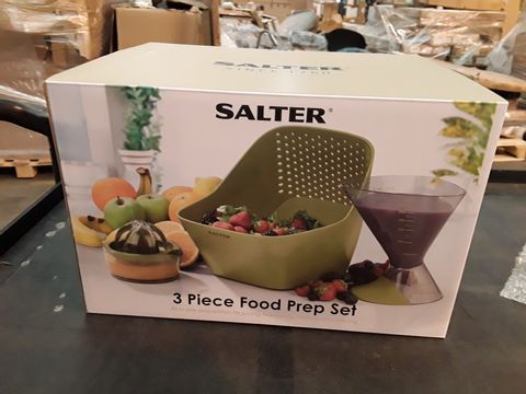 Lot 576 SALTER 3 PIECE FOOD PREP SET