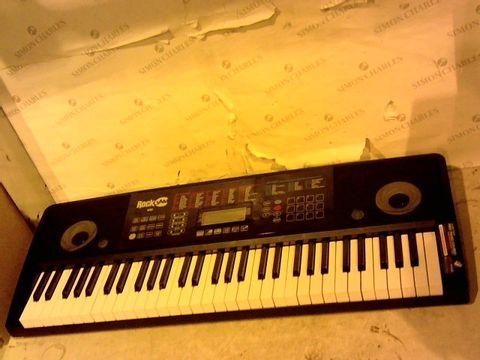 Lot 12637 ROCKJAM RJ761-SK KEY ELECTRONIC INTERACTIVE TEACHING PIANO KEYBOARD