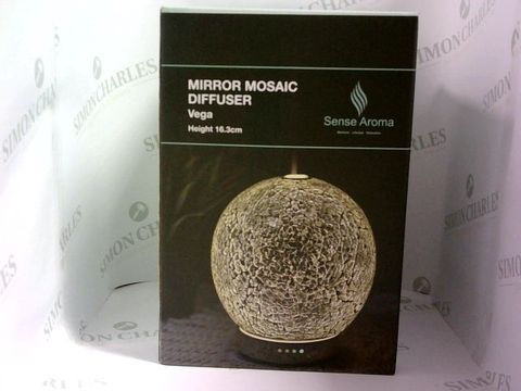 Lot 1025 SENSE AROMA MIRROR MOSAIC DIFFUSER - VEGA