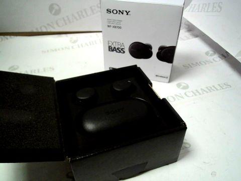 Lot 4033 SONY WF-XB700 TRUE WIRELESS HEADPHONES RRP £169.00