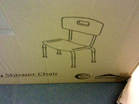 Lot 11353 NRS HEALTHCARE ECONOMY SHOWER CHAIR L97792