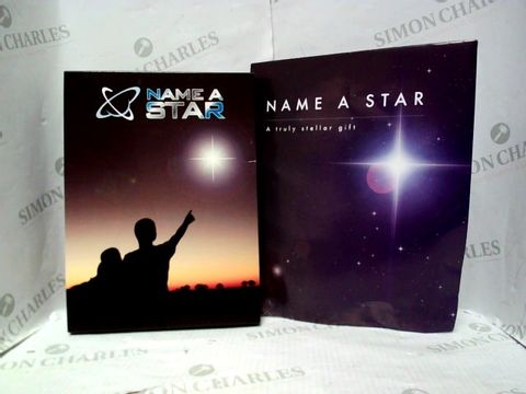 Lot 4355 LOT OF 2 NAME A STAR GIFTS RRP £46.00