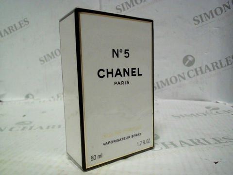 Lot 5029 BRAND NEW AND SEALED CHANEL NO 5 EDP 50ML