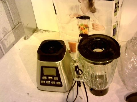 Lot 12083 PRINCESS 212071 BLENDER, STAINLESS STEEL, 1000 W, SILVER AND BLACK