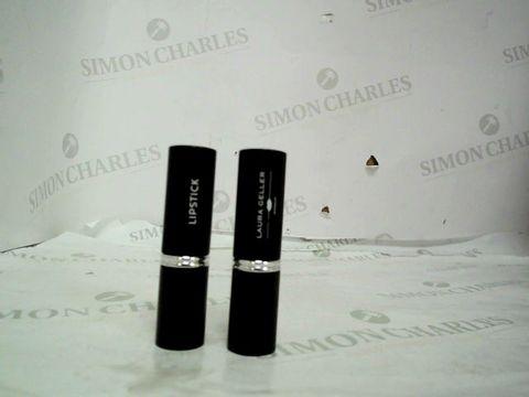 Lot 8688 Laura Geller Italian Marble Lipstick 2 Piece Colleciton