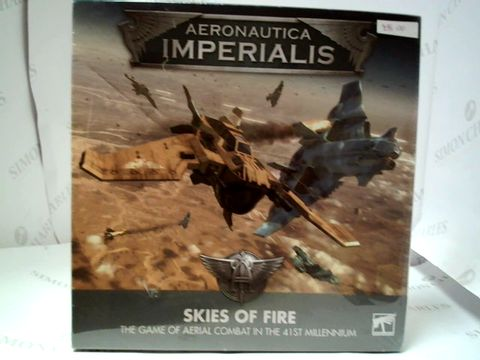 Lot 179 AERONAUTICA IMPERIALIS  - SKIES OF FIRE BOARD GAME