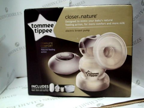Lot 17611 TOMMEE TIPPEE ELECTRIC BREAST PUMP