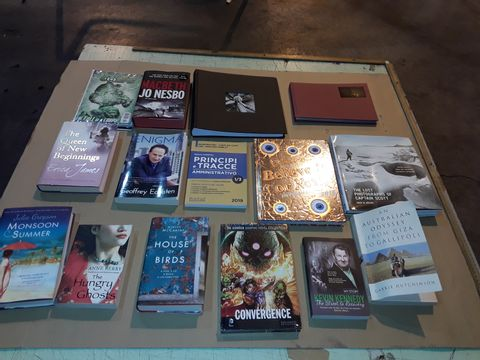 Lot 4062 BOX OF ASSORTED BOOKS