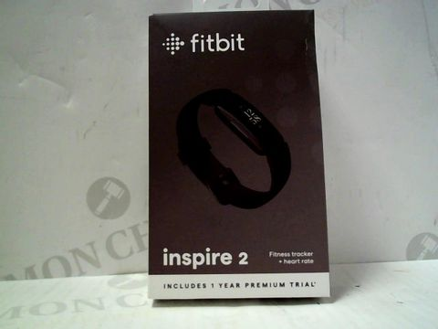 Lot 73 FITBIT INSPIRE 2 FITNESS TRACKER & HEART RATE MONITOR