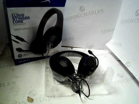 Lot 7274 HYPERX CLOUD STINGER CORE CONSOLE GAMING HEADSET