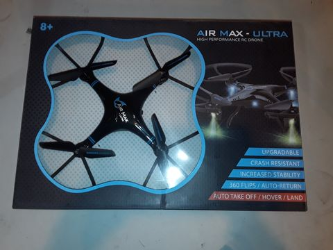 Lot 1079 AIR MAX ULTRA HIGH PERFORMANCE RC DRONE