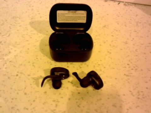 Lot 12328 BLACKWEB TRUE WIRELESS EARBUDS WITH CHARGING CASE