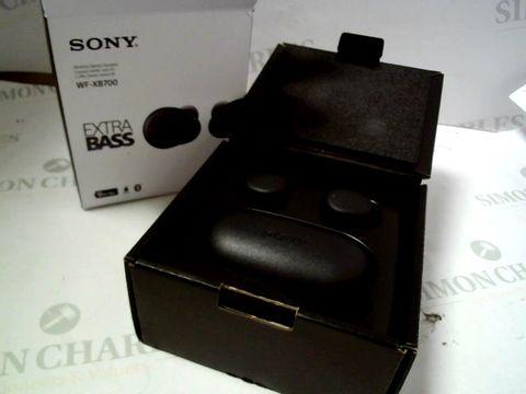 Lot 4109 SONY WF-XB700 TRUE WIRELESS HEADPHONES RRP £169.00