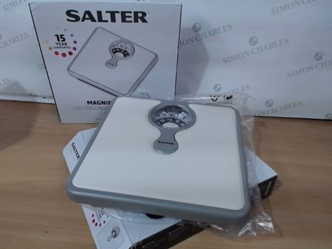Lot 3020 LOT OF 2 X SALTER MAGNIFYING LENS SCALES