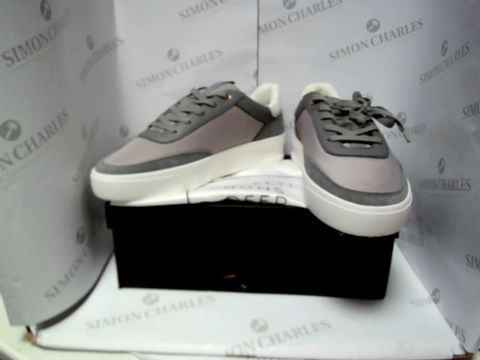 Lot 13026 BOXED PAIR OF DESIGNER LOYALTI TRAINERS  - UK SIZE 9