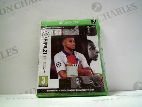 Lot 750 FIFA 21 FOR XBOX ONE RRP £100.00