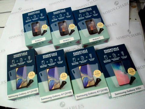 Lot 2612 BOX OF SEVEN ASSORTED BRAND NEW ESSENTIALS BUNDLE PACKS