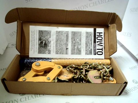 Lot 7641 BOXED CHAIN STRAINER FENCE STRAIGHTENER